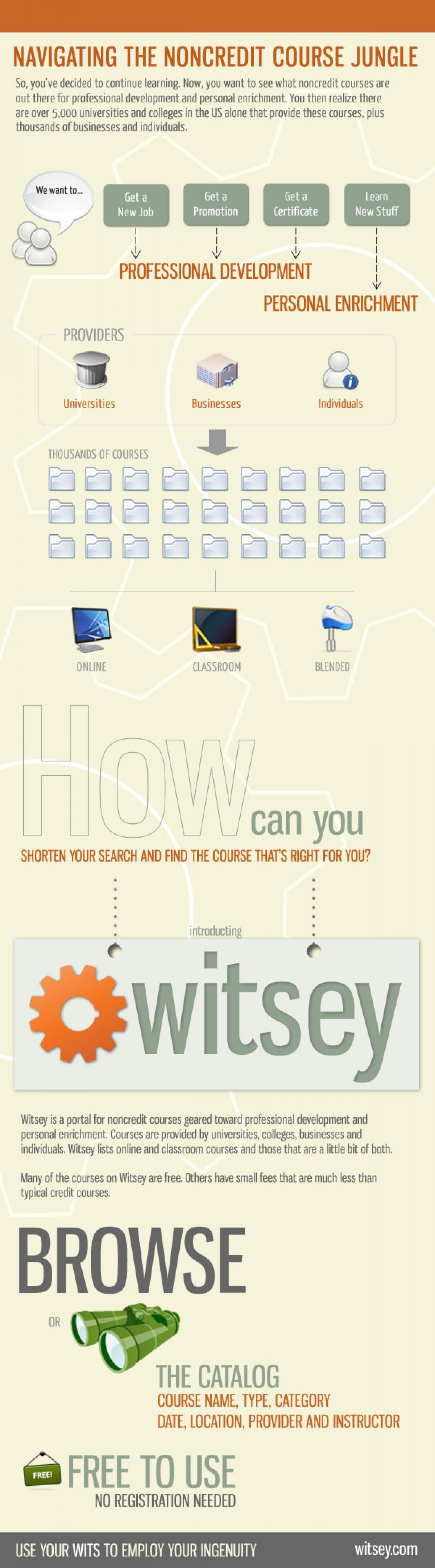 What Is Witsey? Infographic