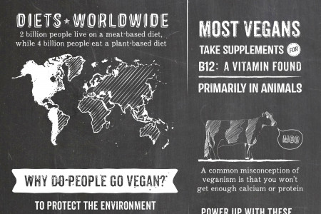 What it Means to be Vegan Infographic