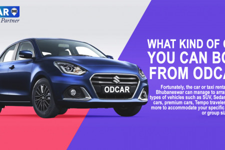 What Kind Of Cabs You Can Book From Odcar? Infographic