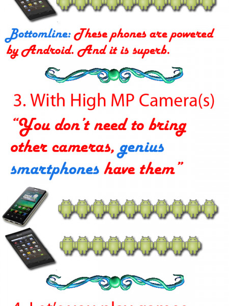 What Makes A Smartphone a Genius Phone? Infographic