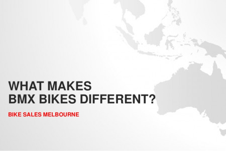 What Makes BMX Bikes Different? Infographic