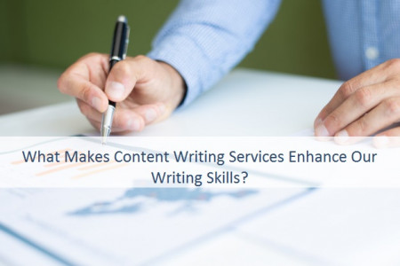 What Makes Content Writing Services Enhance Our Writing Skills? Infographic
