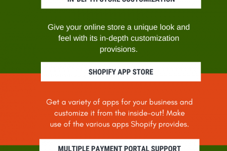 What Makes Shopify Incredible for E-commerce Development Infographic