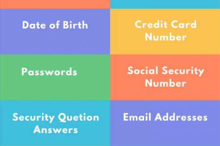 What Personal Information Should You Remove from Internet Infographic