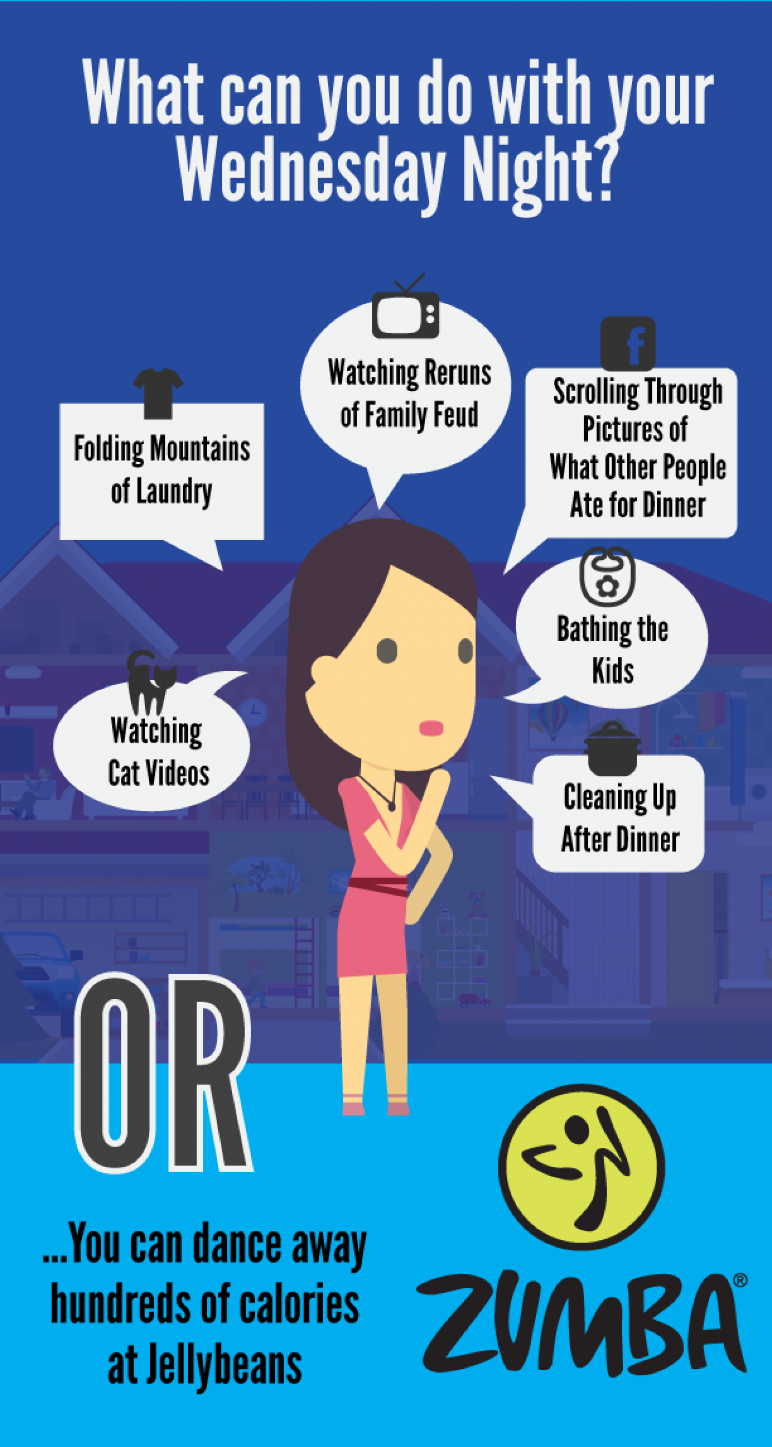What should you do Wednesday night? Infographic