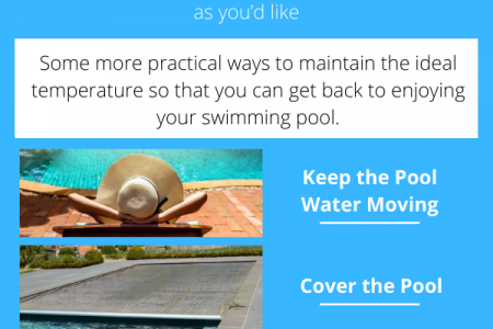 What the Ideal Pool Temperature and How to Maintain It? Infographic