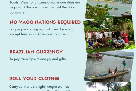What to Carry for Your Ayahuasca Retreat in Brazil Infographic