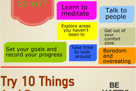 What to do when your bored Infographic