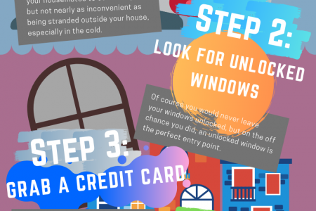 What to Do When You're Locked out Infographic