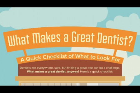 What to Look for in a Dentist Infographic