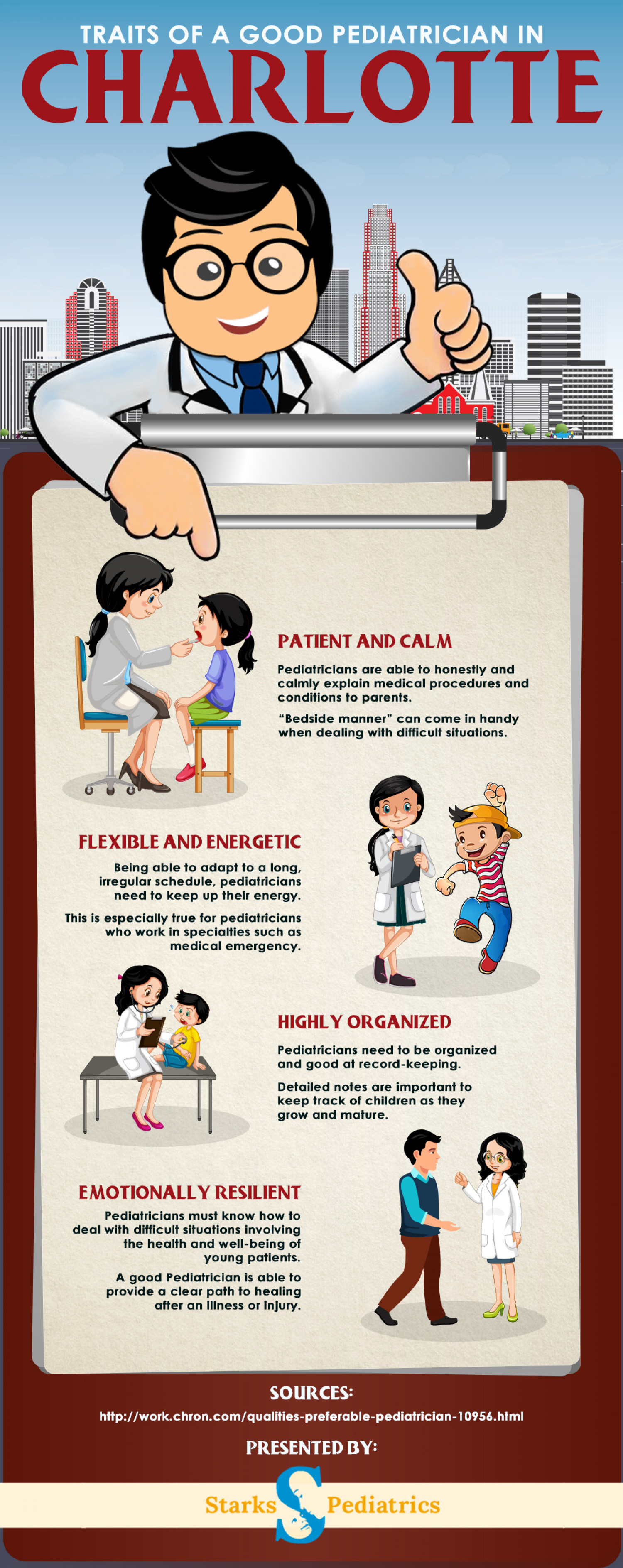 What to Look For in a Pediatrician Infographic