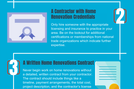 What to Look for When Hiring a Renovation Contractor | Mastered Home Renovation Infographic