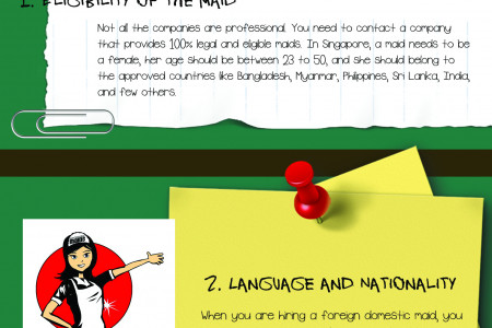 What to look in maid before you hire her Infographic