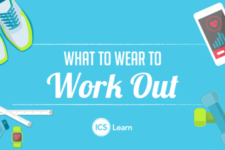 What to Wear to Work Out Infographic