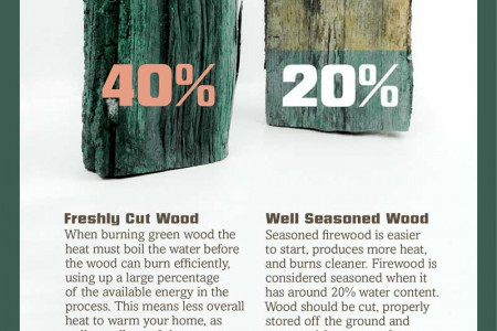 What type of firewood should I buy? Infographic