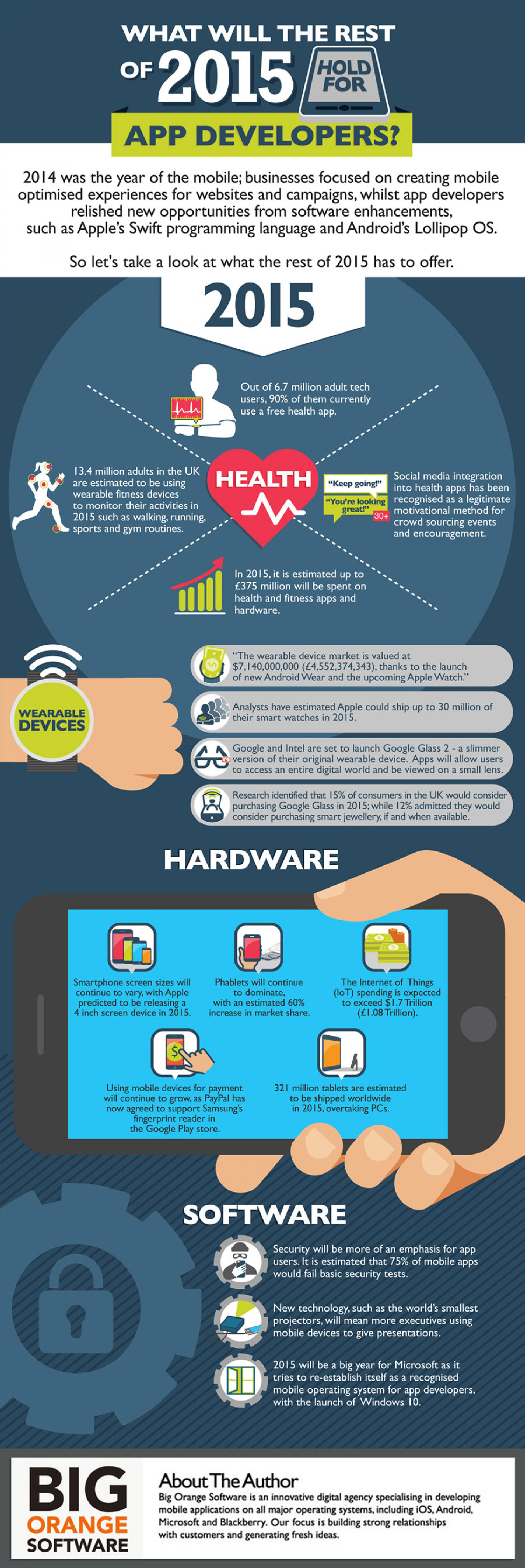 What Will 2015 Bring For App Developers [Infographic] Infographic