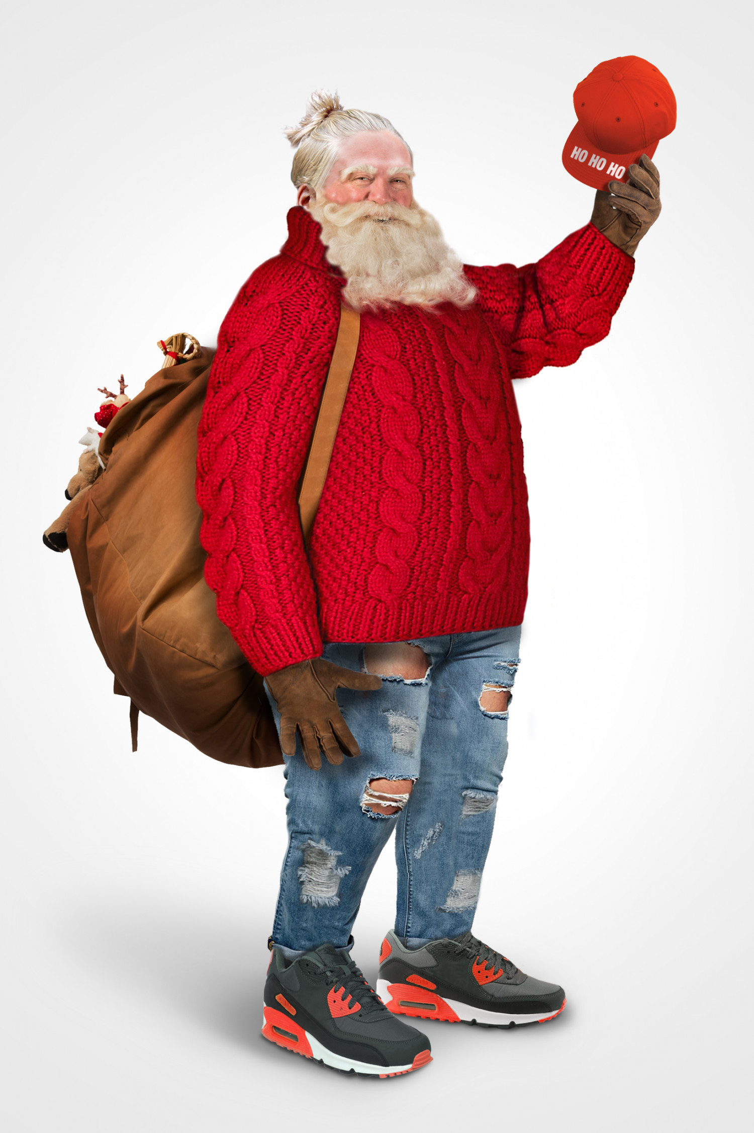 What would Santa look like as a 2015 hipster? Infographic