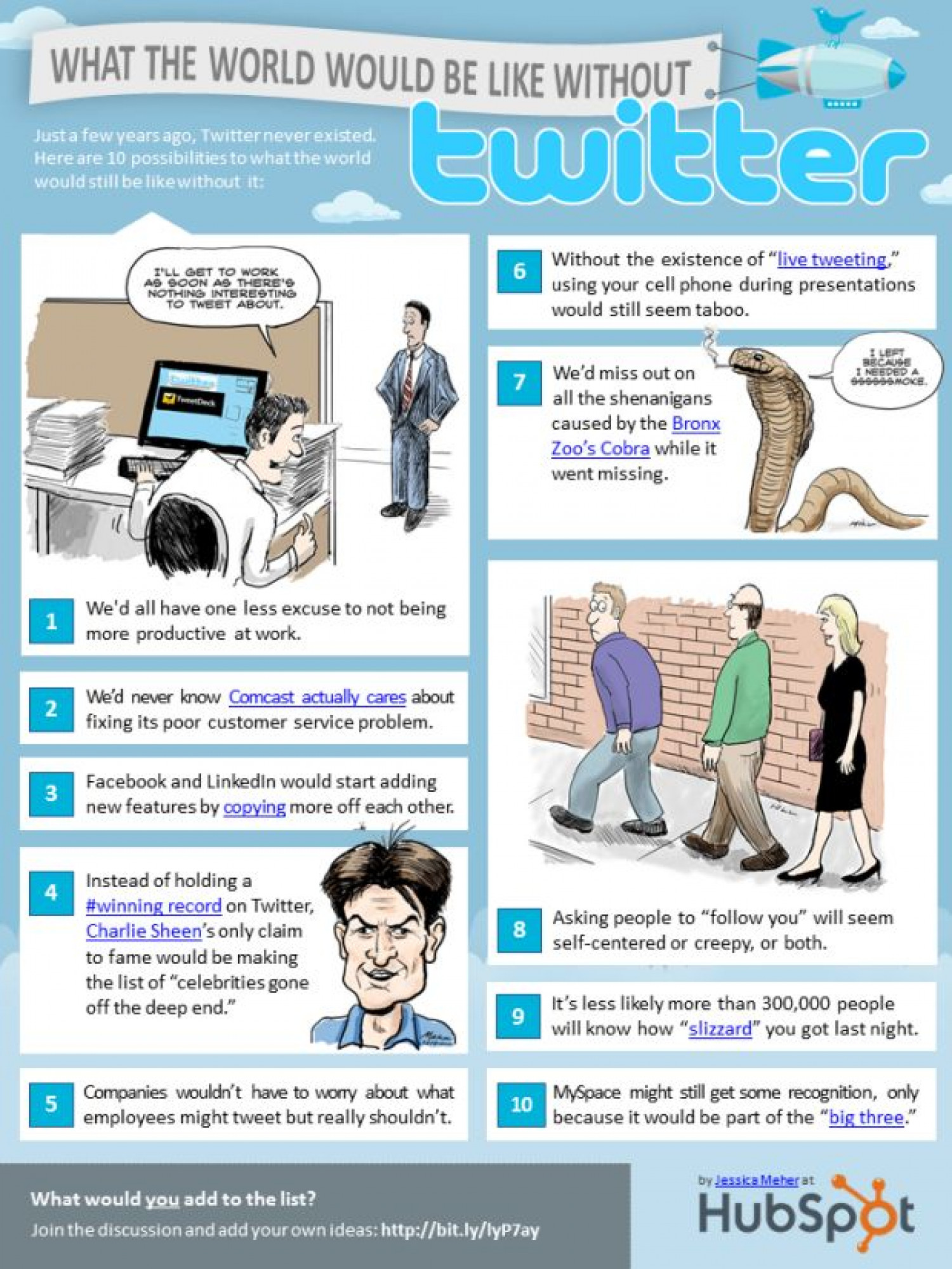 What Would the World be Like Without Twitter? Infographic