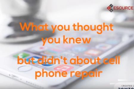 What you thought you knew but didn't about cell phone repair Infographic