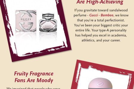 What Your Choice Of Fragrance Says About You Infographic