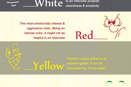 What your clothing color say about you? Infographic