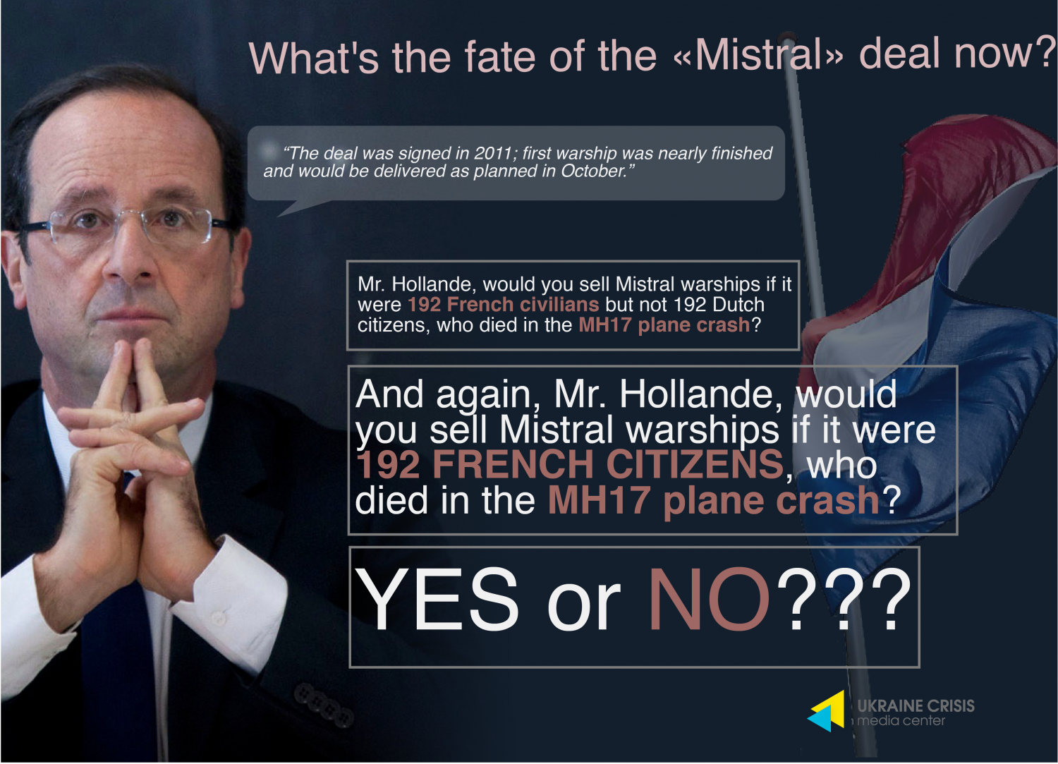 "What's the fate of the ""Mistral"" deal now? Infographic"