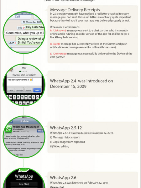 Whatsapp Success Story  Infographic