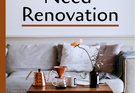 When Do Your Home Need Renovation Infographic