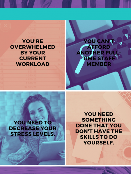 When You Should Hire A Virtual Assistant Infographic