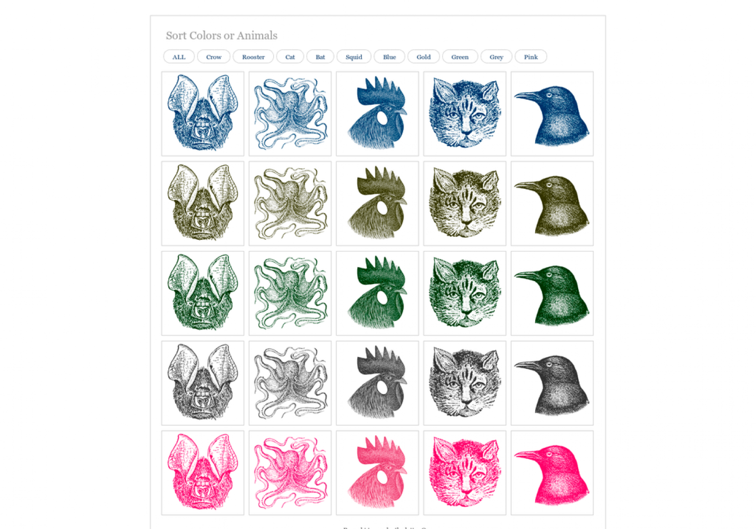 Where Birdy & Batty are Blue, Pink, or Green Infographic