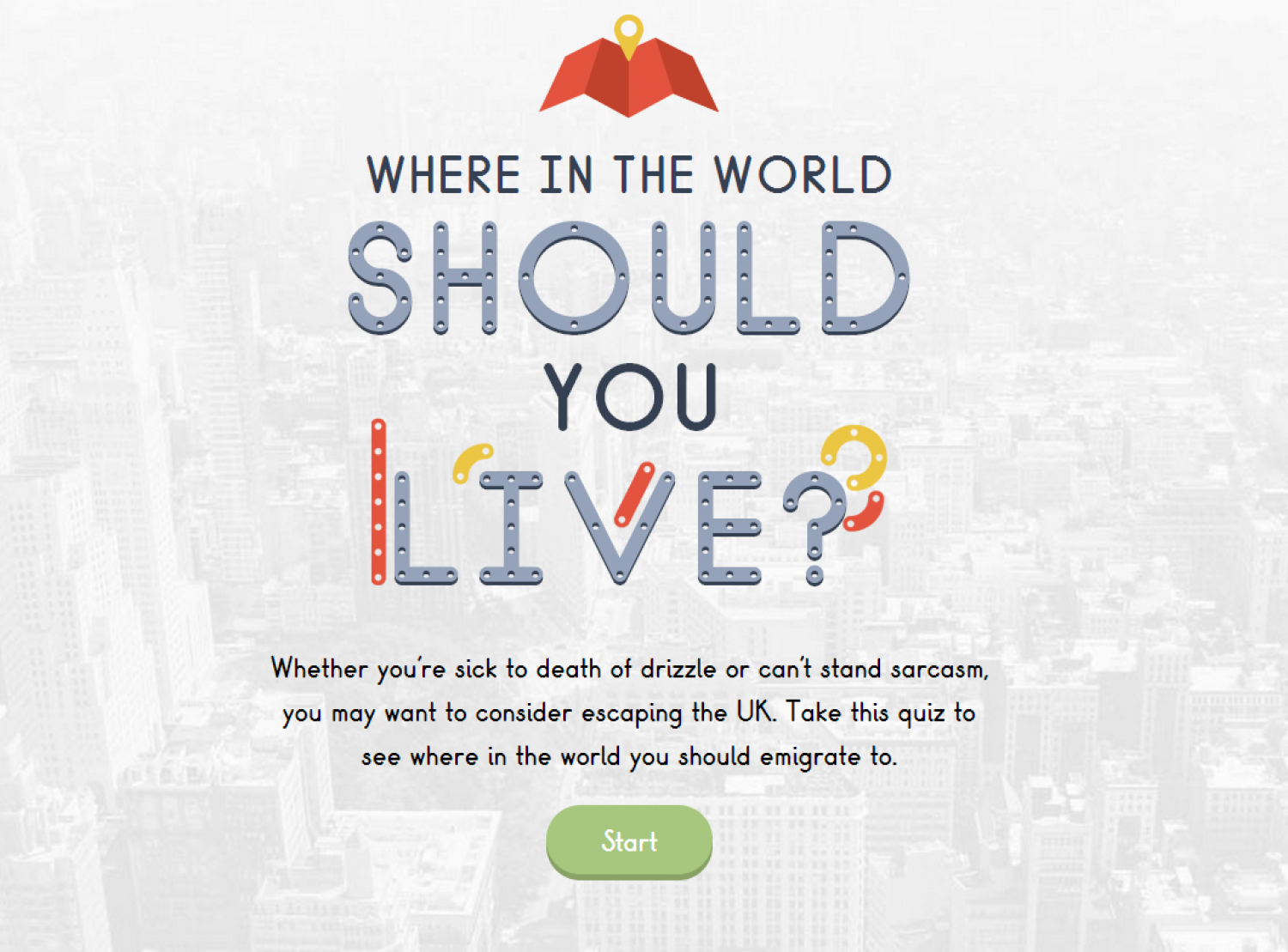 Where In The World Should You Live Visual Ly