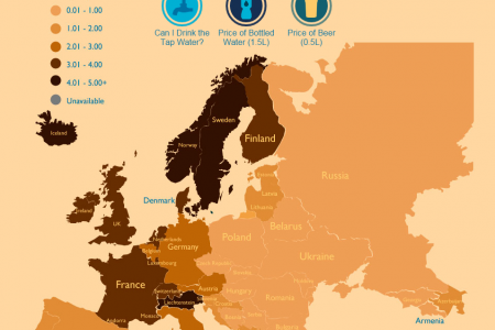 Where On Earth Can I Drink Tap Water? Infographic