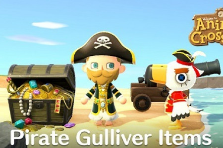 Where to Find Pirate Gulliver in Animal Crossing: New Horizons Infographic