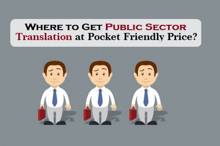 Where to Get Public Sector Translation at Pocket Friendly Price?  Infographic