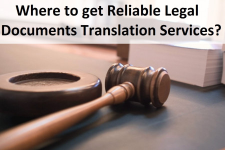 Where to get Reliable Legal Documents Translation Services? Infographic