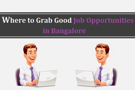 Where to Grab Good Job Opportunities in Bangalore Infographic