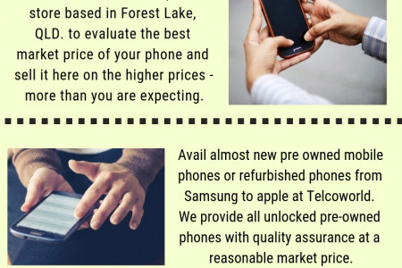 Where to sell cell phones Infographic