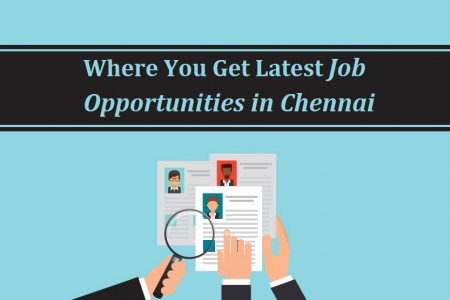 Where You Get Latest Job Opportunities in Chennai Infographic