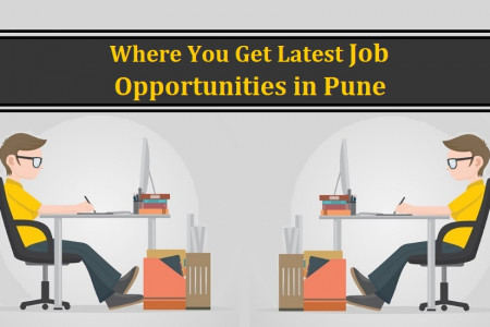 Where You Get Latest Job Opportunities in Pune Infographic