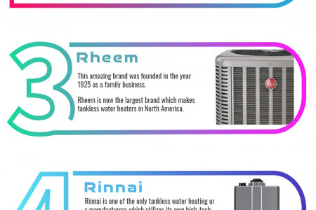 Which Are The Brands That Make Best Tankless Water Heater Infographic
