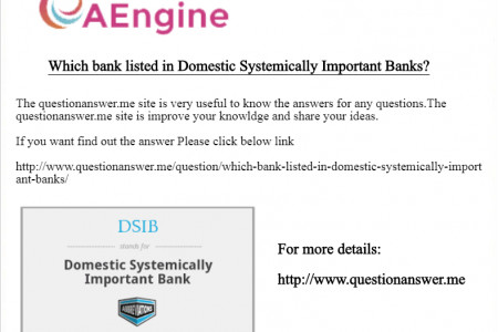 Which bank listed in Domestic Systemically Important Banks? Infographic