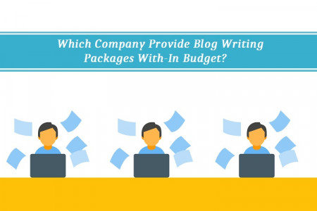 Which Company Provide Blog Writing Packages With-In Budget?  Infographic