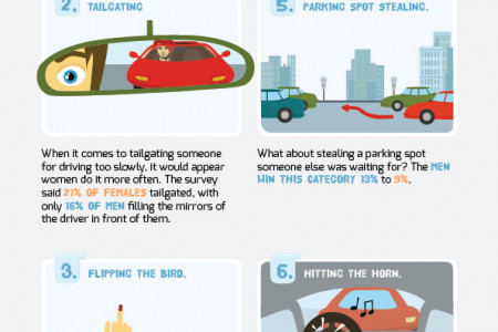 Which gender is the worse driver Infographic