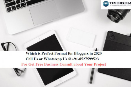 Which is Perfect Format for Bloggers in 2020 Infographic