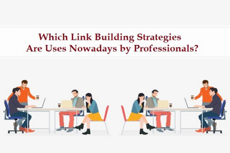 Which Link Building Strategies Are Uses Nowadays by Professionals? Infographic