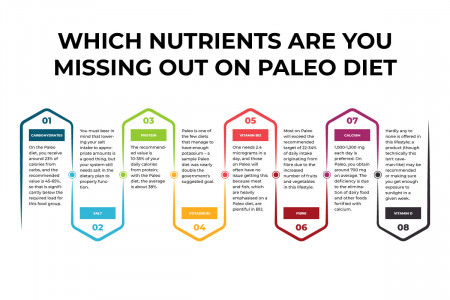 WHICH NUTRIENTS ARE YOU MISSING ON PALEO DIET Infographic