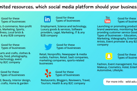 Which Social Media Platform is Right for your Business? Infographic