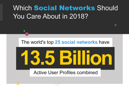 Which Social Networks Should You Care About in 2018? Infographic