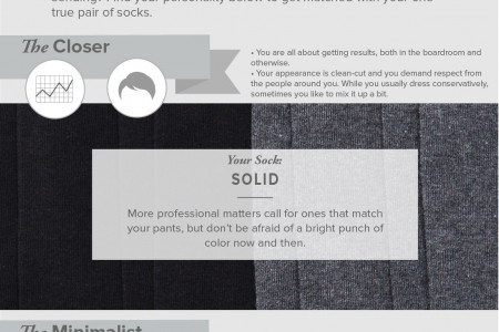 Which Sock Is Your Spirit Animal: Picking the Right Pattern Infographic