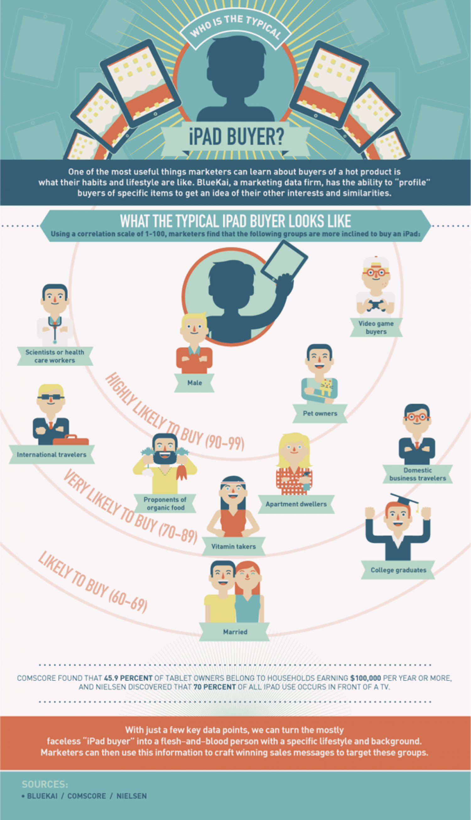 Who Buys iPads?  Infographic